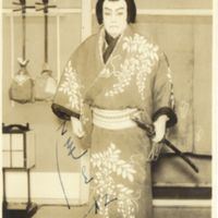Kaizawa 1-055: Kabuki actor - Onoe, Shoroku II,  尾上, 松緑…