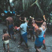 People Traveling to Nemanong Village