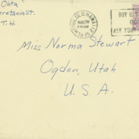 [140] Letter to Norma Stewart