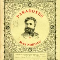Paradoxes from the German of Max Nordau