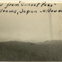 "View from ""Sunset Pass,"" Karuizawa, Nagano Japan"