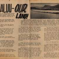 Kahaluu - our land!