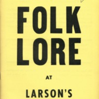 4th annual reference catalog, 1954 folklore at…