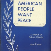 American People Want Peace
