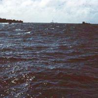 Lagoon.Yap- [to] Palau, W.C.I. 19 Dec. 1949