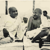 Sardar Vallabhbhai Patel, Gandhi & Other Leaders