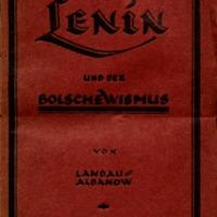 Lenin und der Bolschewismus.