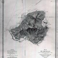 Plan de L'Ile Oualan