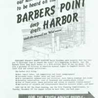 Barber's Point Harbor and its impact on Wai'anae!