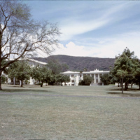 University of Hawaii at Manoa buildings and lawn