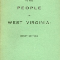 Address to the people of West Virginia, shewing that…