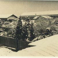 Kaizawa 2-025: Snowy town in Japan, Allied Occupation…