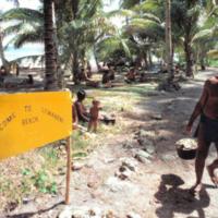 Lemanong Beach scene - 1