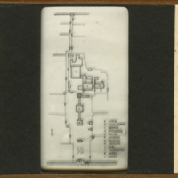 Block Plan of Buddhist Temple Buildings of Zen Sect