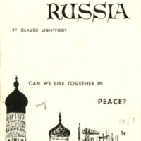 American looks at Russia: can we live together in…
