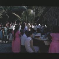Takio/Iaeko wedding celebration. Kilians in background…