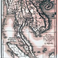 Carte Du Tong-King de La Cochinchine de Siam et de La…