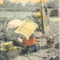 A Farmer Drawing Water from Well