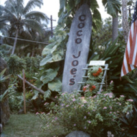 Coco Joe's sign