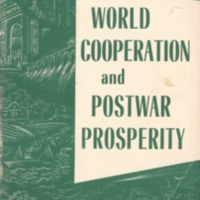 World cooperation and postwar prosperity