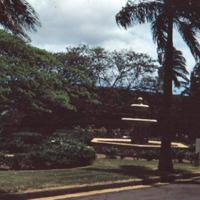 Scene, Ft. Shafter, Honolulu. 16 Apr. 1954