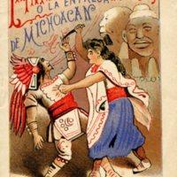 La Infamia del Rey Tzintzicha o La Entrega de Michoacan