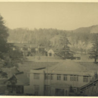 View from a hotel veranda, Nikko Tochigi Japan