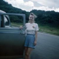 Anne Hansche. Asan, Guam. 13 Oct. 1949