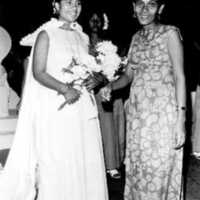 1976 UN Day Queen, on right Mrs. Bethwel Henry, photo…