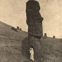 Largest Standing Image -- Easter Island Great standing…
