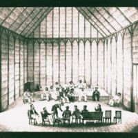 King Kamehameha III meeting with Captain Du Petit…