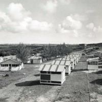 Leprosarium. Tinian. Residence area & cook houses.…