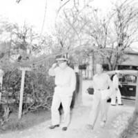 Captain Smith and Captain Gordon Findlay entering…