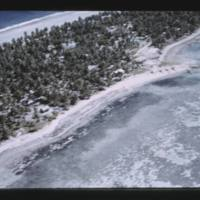 Mason's departure flight over Ujelang Atoll. This photo…