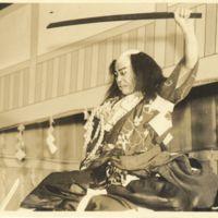 Kaizawa 1-045: Kabuki actor - Nakamura, Kichiemon I,…