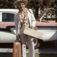 Leslie Sheraton returns home