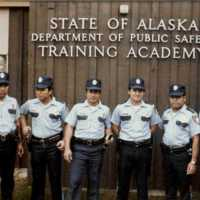 Trukese participants at Alaska police training. (…