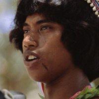 Thomas Raffipiy, Mau Piailug's nephew, speaking at the…