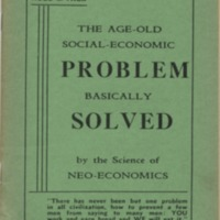 Age-old social-economic problem basically solved by the…