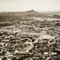 Aerial View, University of Hawai`i (1955)