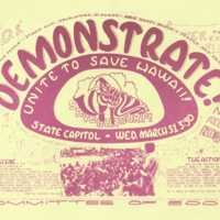 Demonstrate! unite to save Hawaii