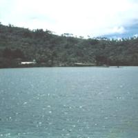Tol village. [Chuuk] Aug. 1950