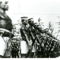 Troops in New Guinea