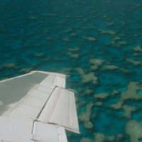 Aerial View of Atolls