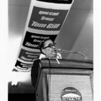 Sakae Takahashi, Tom Gill 1970 gubernatorial campaign