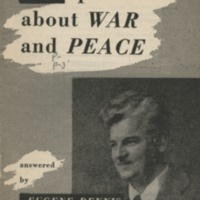 21 questions about war and peace.
