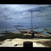 View of Raij Island; photographer standing north of the…