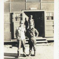 Kaizawa 2-004: American soldiers standing outside…