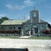 Catholic church, Angaur [Ngeaur]. Very nice interior.…