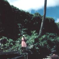 Basalt rock Nan Metal [Nan Madol] ruins. Ponape. July…